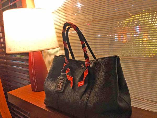 パパから貰ったバーキンのバッグ