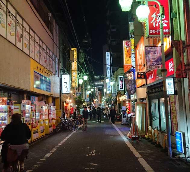 蒲田駅周辺は風俗だらけ